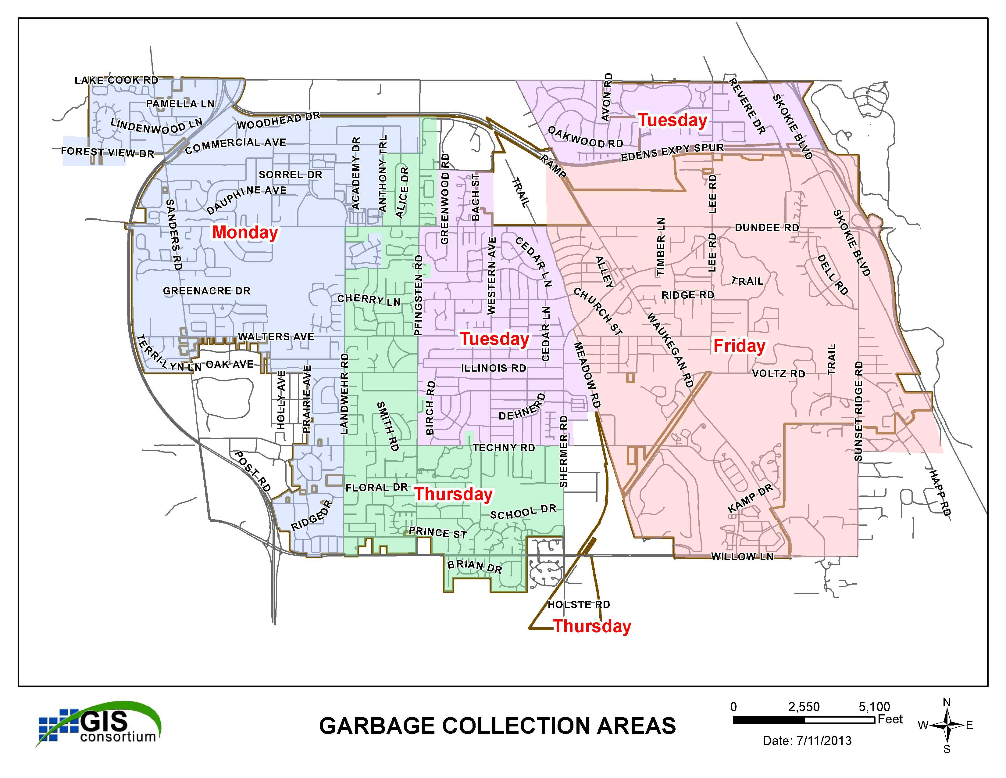 Northbrook Il Map GIS, Mapping & Data Services | Northbrook, IL