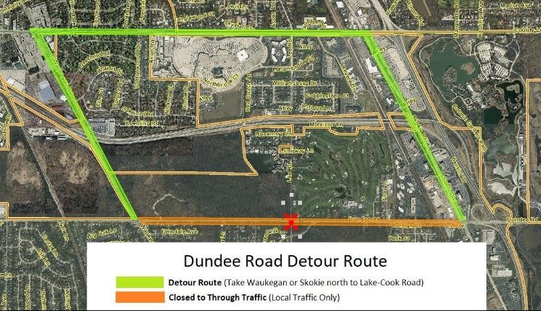 Dundee Road Bridge/Culvert Replacement - 2019 | Northbrook, IL