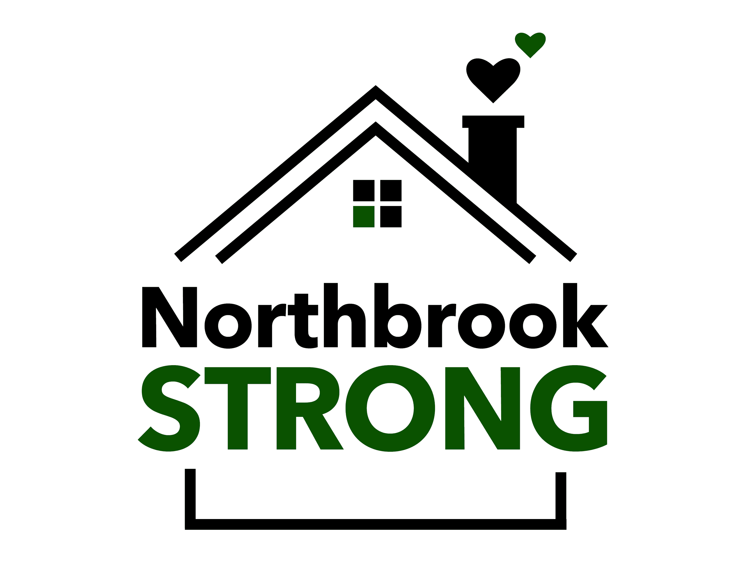 Northbrook Strong Window Sign V1