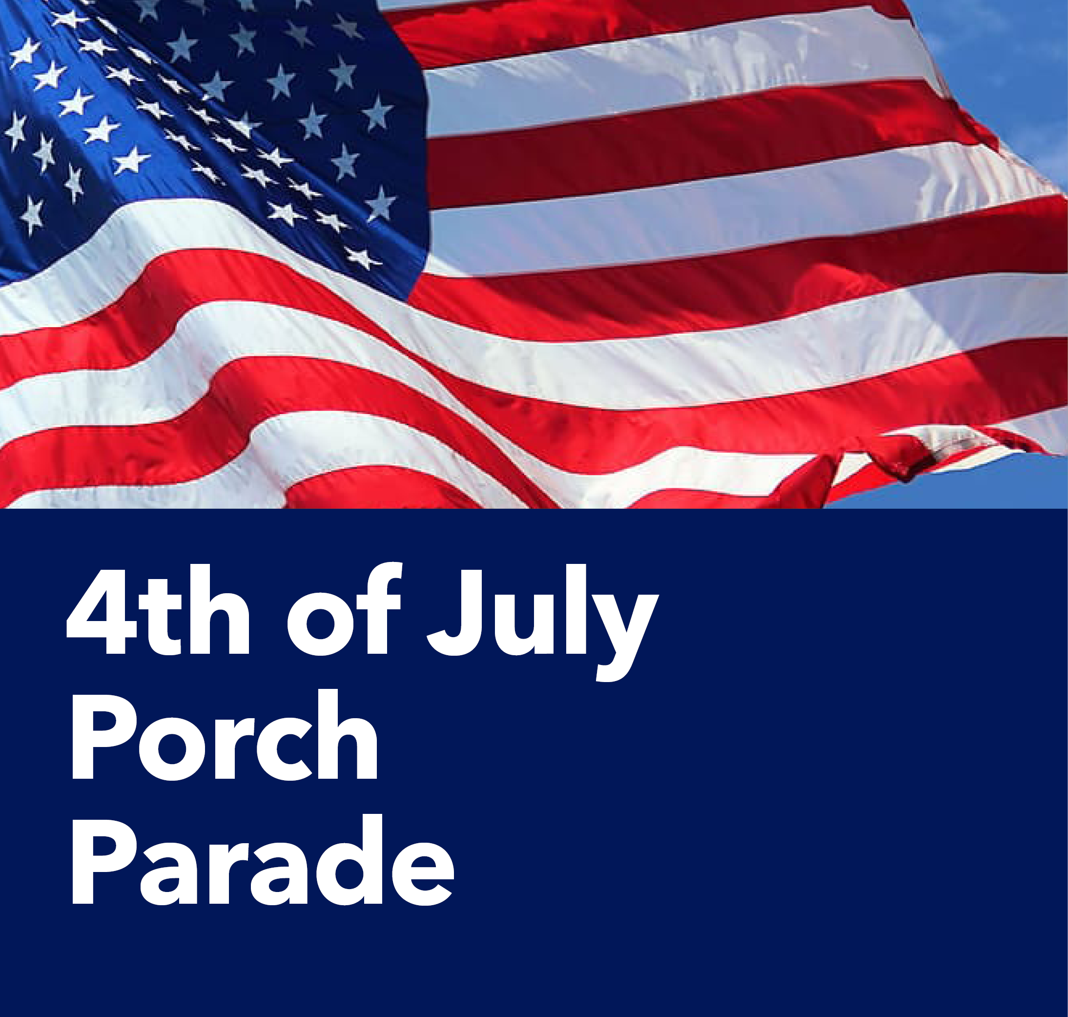 Porch Parade