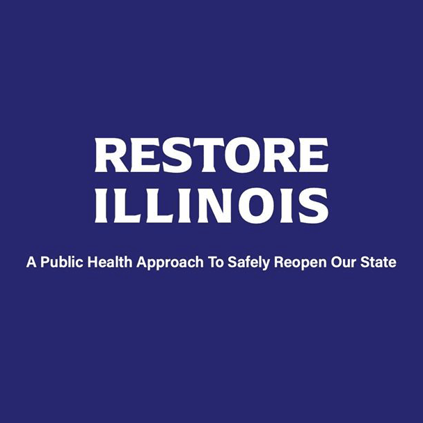Restore Illinois Graphic