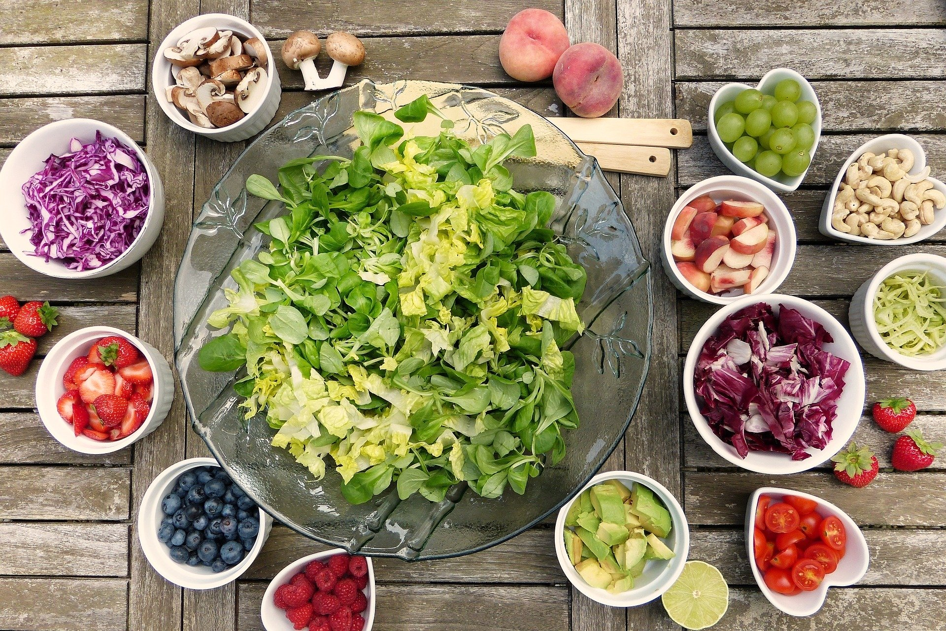 salad Image by silviarita from Pixabay