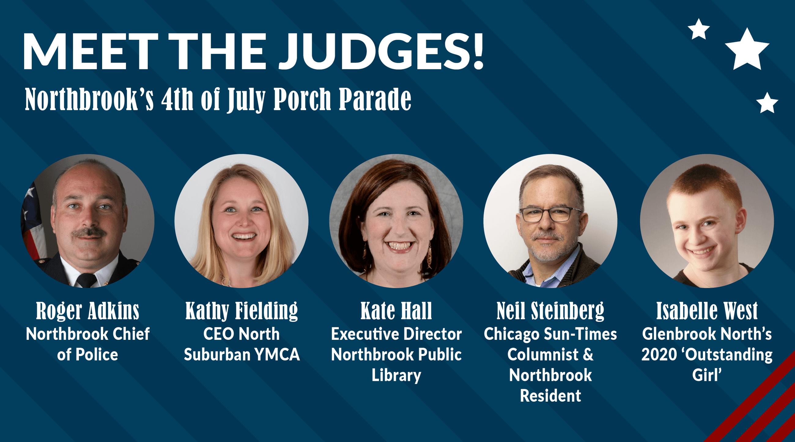 Porch Parade Judges